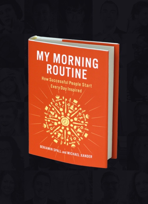 Cover of my book My Morning Routine